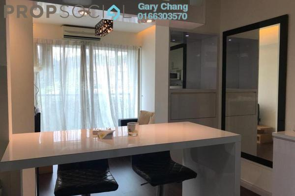 For Rent Condominium at Ritze Perdana 1, Damansara Perdana Freehold Fully Furnished 1R/0B 1.6k