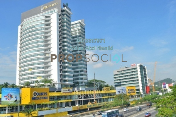 For Rent Shop at 8trium, Bandar Sri Damansara Freehold Semi Furnished 0R/0B 22.3k