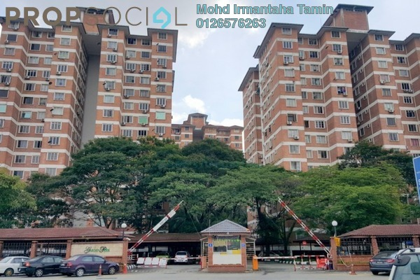 For Sale Condominium at Garden Park, Bandar Sungai Long Freehold Semi Furnished 3R/2B 220k