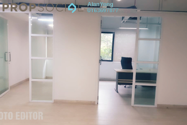For Rent Office at d7, Sentul Freehold Semi Furnished 0R/0B 3.6k