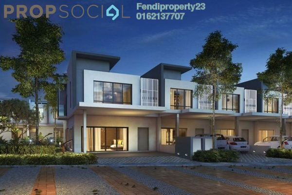 For Sale Terrace at Cybersouth, Dengkil Freehold Unfurnished 3R/3B 780k