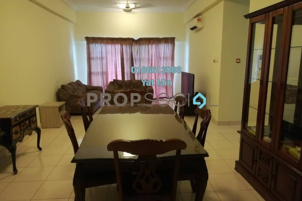 For Rent Condominium at Hartamas Regency 1, Dutamas Freehold Fully Furnished 3R/2B 3.3k