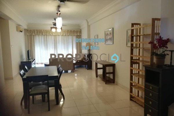 For Rent Condominium at Hartamas Regency 1, Dutamas Freehold Fully Furnished 3R/2B 2.8k