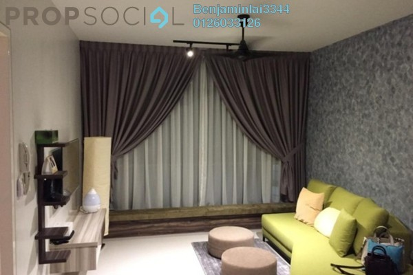 For Rent Serviced Residence at AraGreens Residences, Ara Damansara Freehold Fully Furnished 1R/1B 2.1k