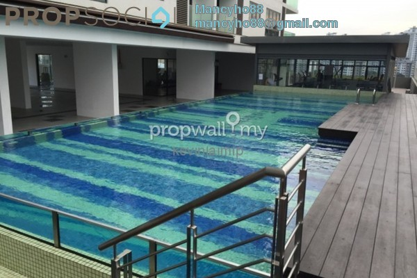 For Rent Condominium at Zenith Residences, Kelana Jaya Freehold Fully Furnished 3R/2B 2.4k