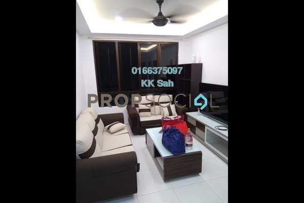 For Sale Condominium at Vista Harmoni, Cheras South Freehold Semi Furnished 3R/2B 399k