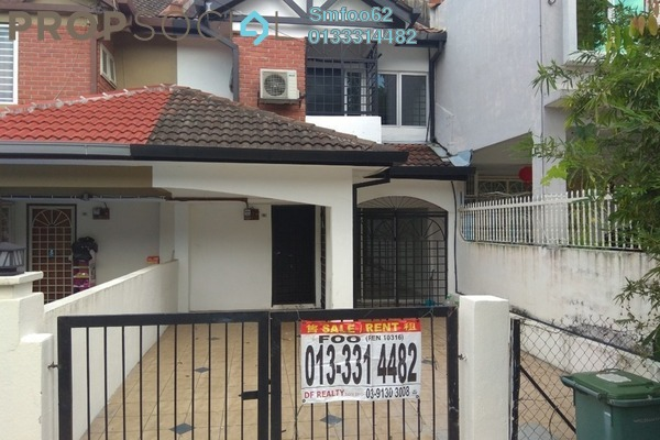 For Rent Terrace at Taman Wangsa Melawati, Wangsa Maju Freehold Semi Furnished 4R/3B 1.8k