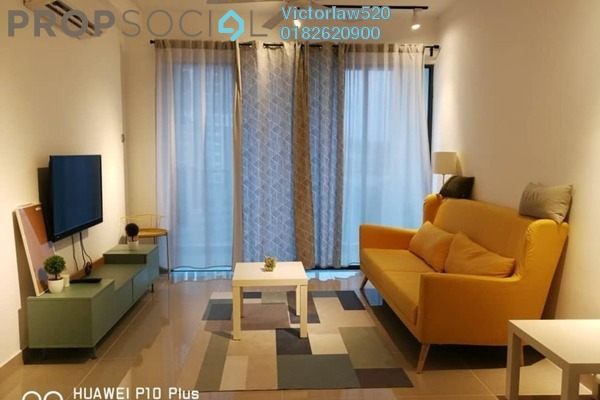 For Rent Condominium at Amerin Mall & Residence, Balakong Freehold Semi Furnished 2R/2B 1k