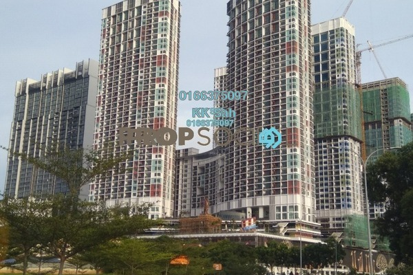 For Sale Serviced Residence at i-Residence @ i-City, Shah Alam Freehold Semi Furnished 1R/1B 338k