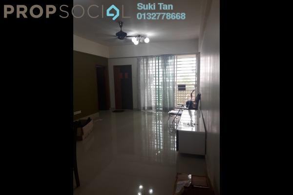 For Rent Apartment at Bukit Segambut, Segambut Freehold Semi Furnished 3R/2B 1.25k