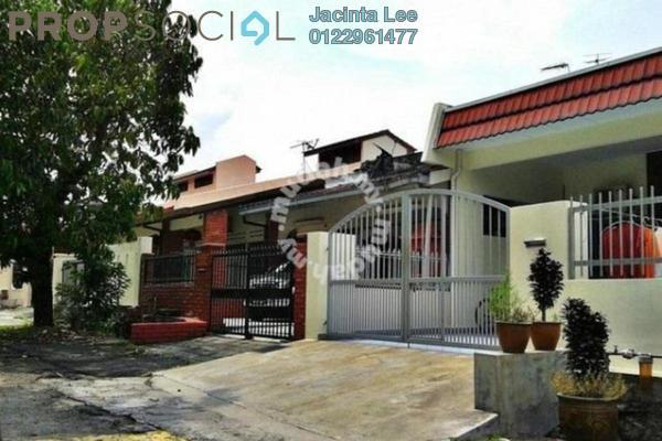 For Sale Terrace at Kepong Baru, Kepong Freehold Semi Furnished 3R/2B 468k