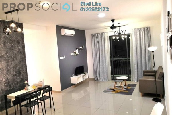 For Rent Terrace at Parkhill Residence, Bukit Jalil Freehold Fully Furnished 3R/2B 2.34k