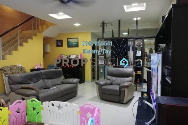 For Sale Terrace at Laman Rimbunan, Kepong Freehold Semi Furnished 5R/4B 1.3m