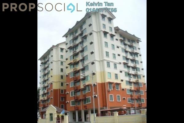 For Rent Apartment at Pangsapuri Seri Sekamat, Kajang Freehold Semi Furnished 3R/2B 860translationmissing:en.pricing.unit