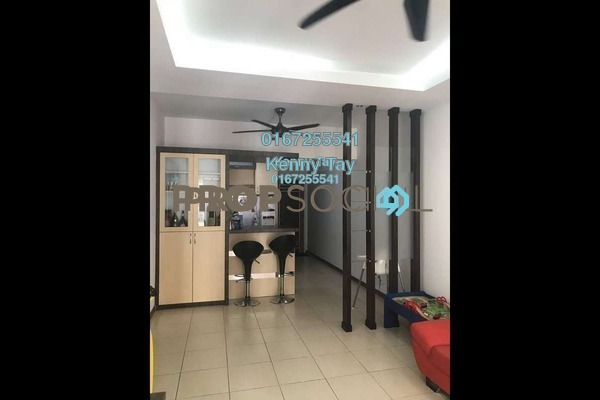 For Sale Condominium at Plaza Medan Putra, Bandar Menjalara Freehold Semi Furnished 3R/2B 390k