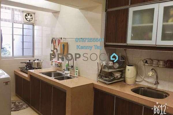 For Sale Condominium at Plaza Medan Putra, Bandar Menjalara Freehold Semi Furnished 3R/2B 350k