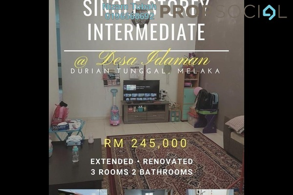 For Sale Terrace at Taman Desa Idaman, Melaka Freehold Unfurnished 3R/2B 245k