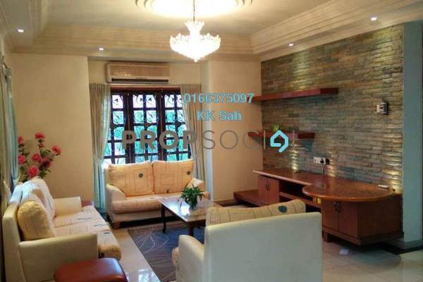 For Sale Bungalow at Taman Bukit Saga, Shah Alam Freehold Fully Furnished 6R/5B 2.48m