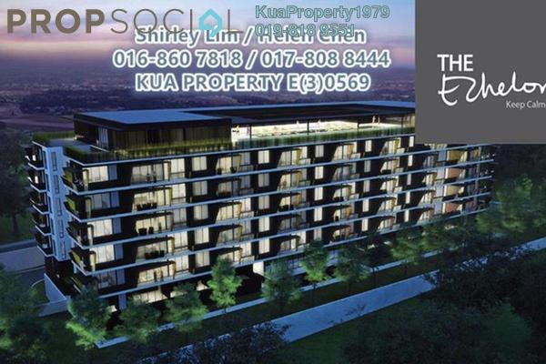 For Sale Apartment at The Echelon, Kuching Freehold Semi Furnished 3R/2B 740k