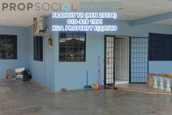For Rent Semi-Detached at Blessed Garden 3, Kuching Freehold Semi Furnished 3R/1B 1.2k