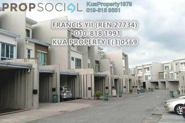 For Sale Townhouse at Uni Garden, Kota Samarahan Freehold Semi Furnished 4R/4B 680k
