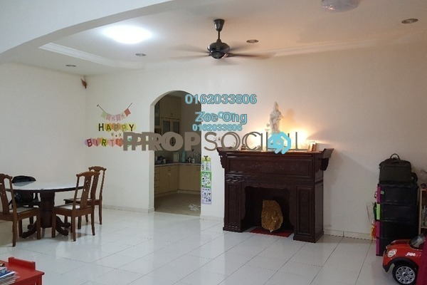 For Sale Terrace at Damansara Emas, Kota Damansara Freehold Semi Furnished 4R/3B 879k