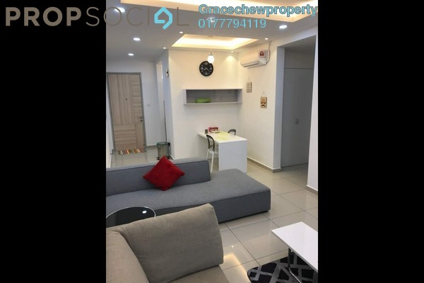 For Rent Apartment at Seasons Luxury Apartments, Johor Bahru Freehold Fully Furnished 1R/1B 1.58k