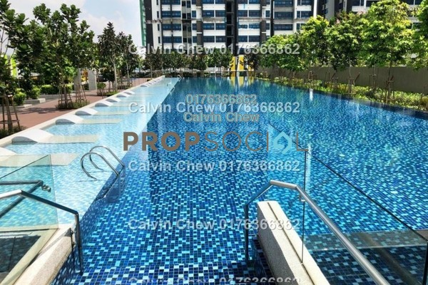 For Sale Serviced Residence at Lakeville Residence, Jalan Ipoh Freehold Unfurnished 3R/0B 486k