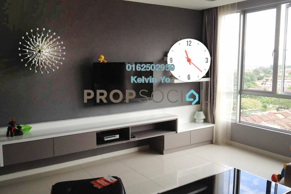 For Rent Apartment at Menjalara 18 Residences, Bandar Menjalara Freehold Semi Furnished 3R/3B 2.5k