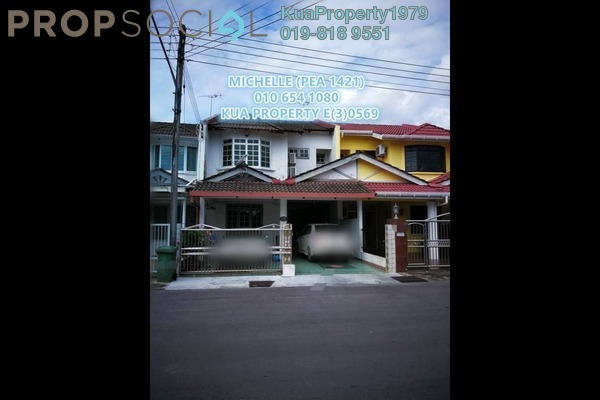 For Rent Terrace at Taman BDC, Kuching Freehold Fully Furnished 3R/3B 1.3k