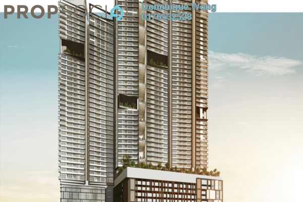 For Sale Serviced Residence at Continew, Pudu Freehold Semi Furnished 1R/1B 607k
