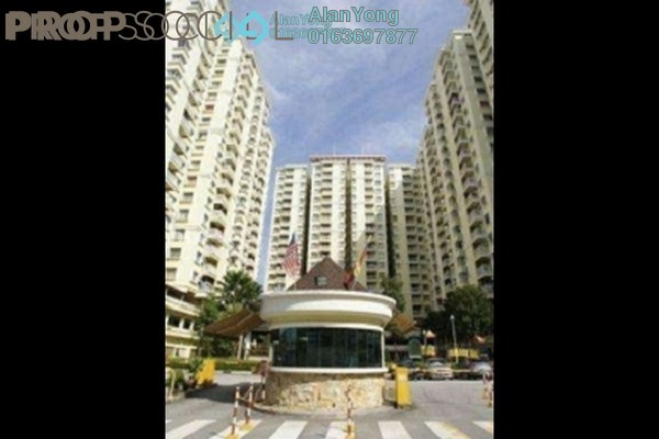 For Rent Condominium at Platinum Hill PV5, Setapak Freehold Semi Furnished 4R/2B 1.59k