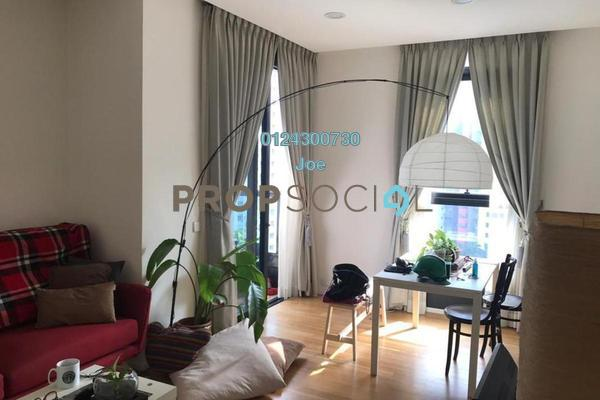 For Rent Serviced Residence at Arcoris, Mont Kiara Freehold Fully Furnished 2R/2B 3.8k