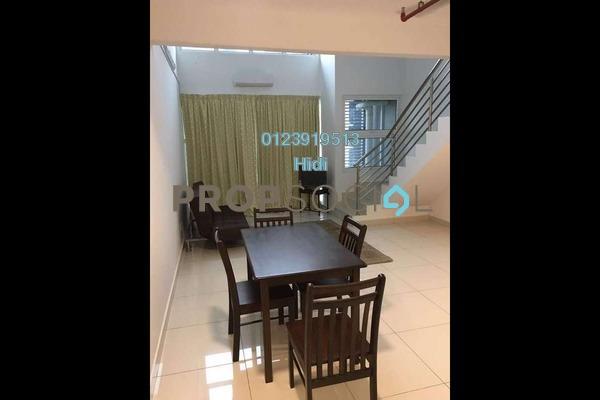 For Rent Duplex at De Centrum Residences, Kajang Freehold Semi Furnished 1R/2B 1.6k