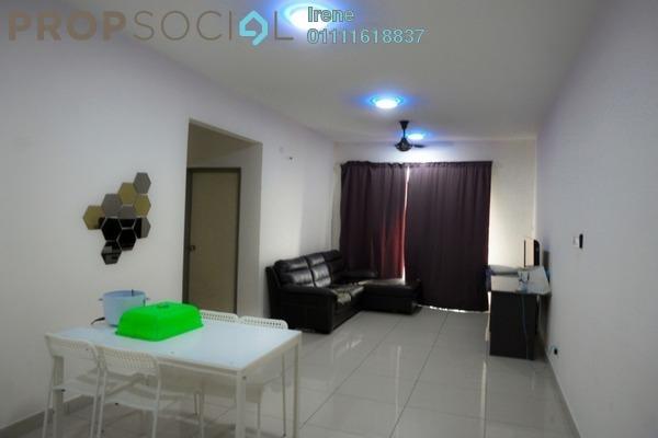 For Rent Condominium at Platinum Lake PV21, Setapak Freehold Semi Furnished 2R/2B 1.65k