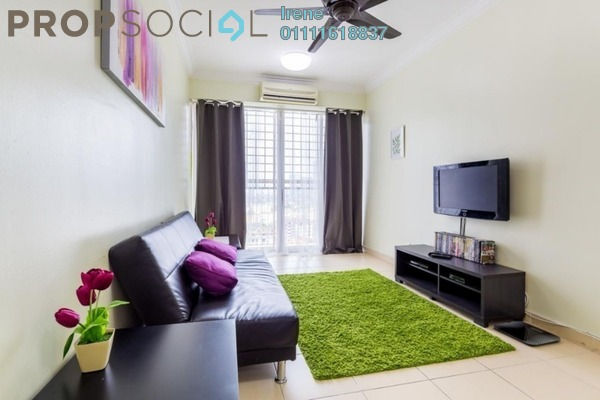 For Rent Condominium at Plaza Rah, Chow Kit Freehold Fully Furnished 3R/2B 2.6k