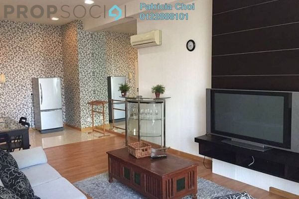 For Rent Serviced Residence at Park View, KLCC Freehold Fully Furnished 0R/1B 2.5k