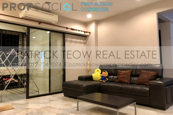 For Sale Condominium at Kiara Park, TTDI Freehold Fully Furnished 3R/2B 830k