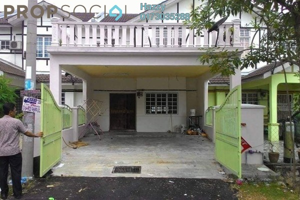 For Sale Terrace at Bandar Puncak Alam, Kuala Selangor Freehold Semi Furnished 4R/3B 380k