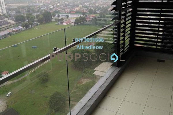 For Sale Condominium at Mercury Serviced Apartment @ Sentul Village, Sentul Freehold Semi Furnished 3R/2B 530k