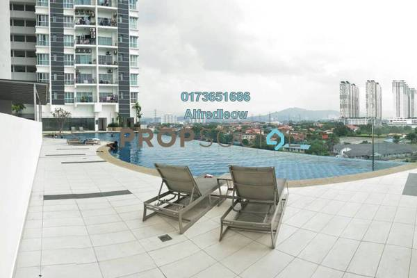 For Sale Condominium at DeSkye Residence, Jalan Ipoh Freehold Unfurnished 3R/2B 520k