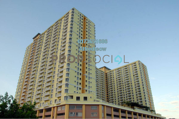 For Sale Condominium at Platinum Lake PV12, Setapak Freehold Semi Furnished 3R/2B 420k