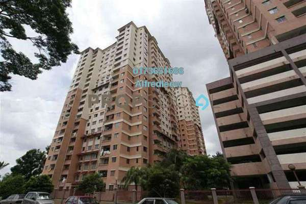 For Sale Condominium at Idaman Sutera, Setapak Freehold Fully Furnished 3R/2B 280k