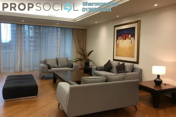 For Rent Condominium at Harvard Residence, KLCC Freehold Fully Furnished 3R/4B 8k