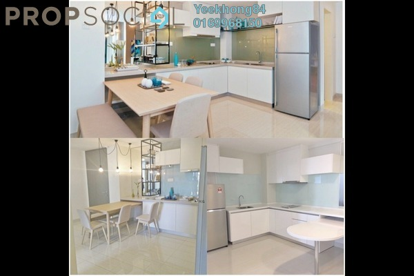 For Sale Condominium at Dex @ Kiara East, Jalan Ipoh Freehold Semi Furnished 3R/2B 555k