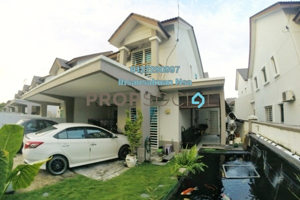 For Sale Semi-Detached at Bandar Puncak Alam, Kuala Selangor Freehold Semi Furnished 5R/3B 490k