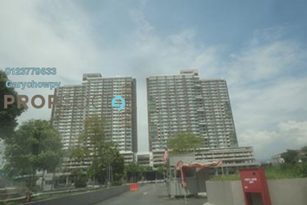 For Sale Serviced Residence at Dex @ Kiara East, Jalan Ipoh Freehold Semi Furnished 3R/2B 404k