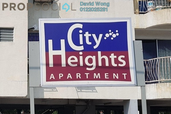 For Rent Apartment at City Heights Apartment, Kajang Freehold Unfurnished 3R/2B 700translationmissing:en.pricing.unit