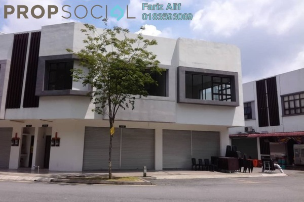 For Rent Shop at Trivo, Bukit Jelutong Freehold Unfurnished 0R/2B 6k