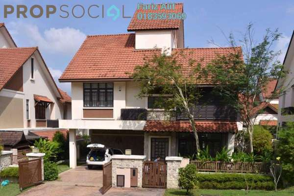 For Sale Bungalow at Bidai Residence, Bukit Jelutong Freehold Semi Furnished 5R/5B 3.7m